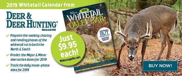 2019 Whitetails Wall Calendar