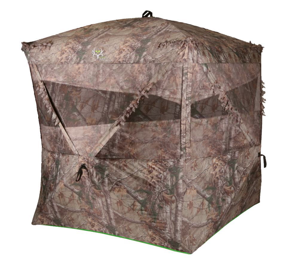 Monster Deer Hunting Ground Blind Big Enough to Live In -