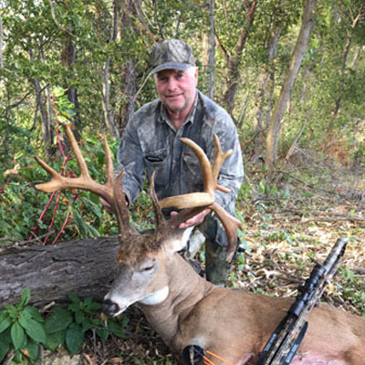 Cold Weather Key to Giant Nontypical Buck