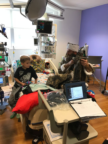 Christmas Arrives Early at Pittsburgh's UPMC Children's Hospital
