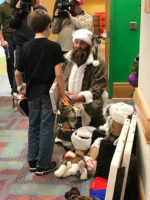 Christmas Arrives Early at Pittsburghs UPMC Childrens Hospital