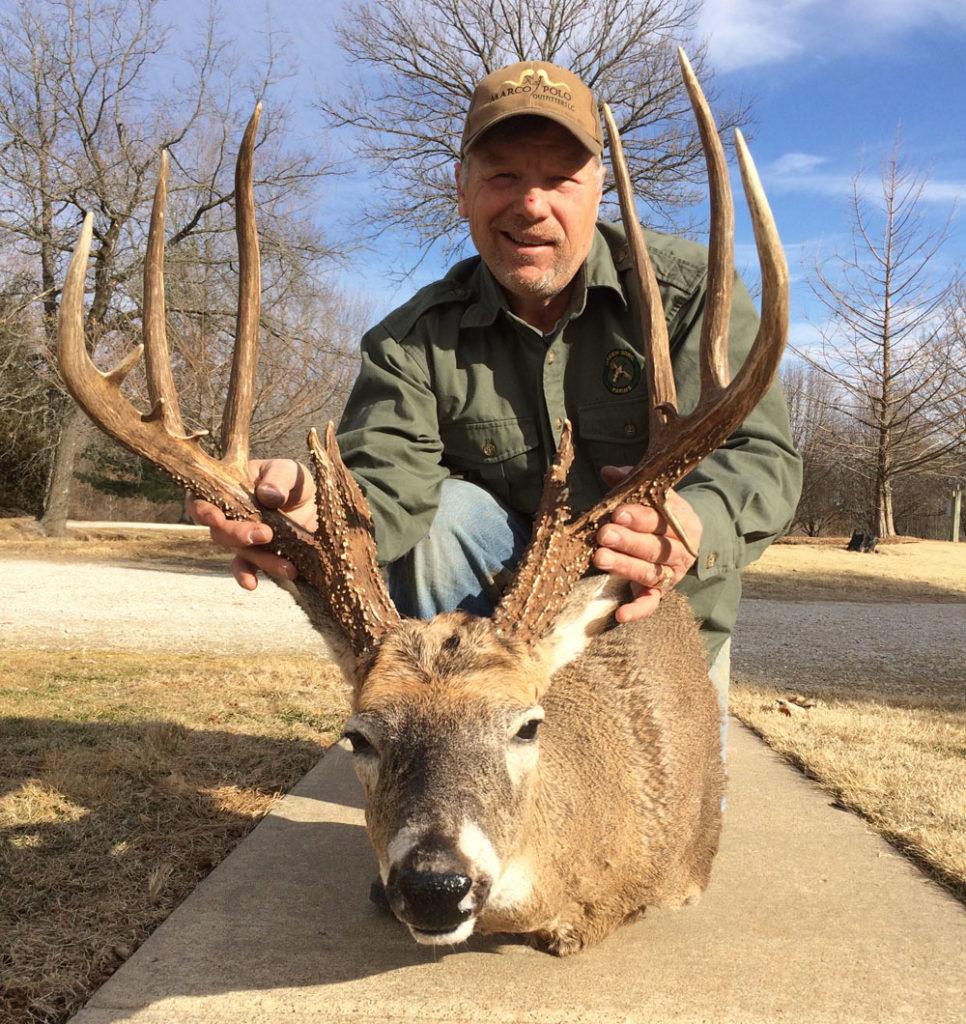 John Deere Scrape-Maker Bags Monster Missouri Buck