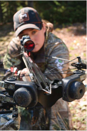 Choose the right crossbow that fits you and get the proper accessories and scope. All the components should work together.