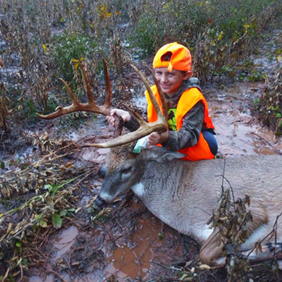 Public Land Provides Unforgettable Buck for Young Hunter