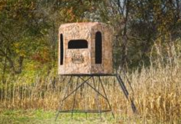 Ata 2016 Spacious Blind Allows Easy Movement For Hunters