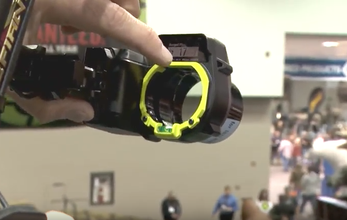 State-of-the-Art Laser Rangefinder Bow Sight Combo