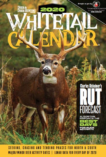 Deer Activity Calendar 2021