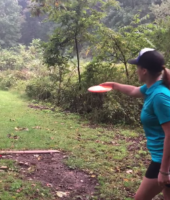 70 Yard Shot on a Deer … With a Frisbee®!