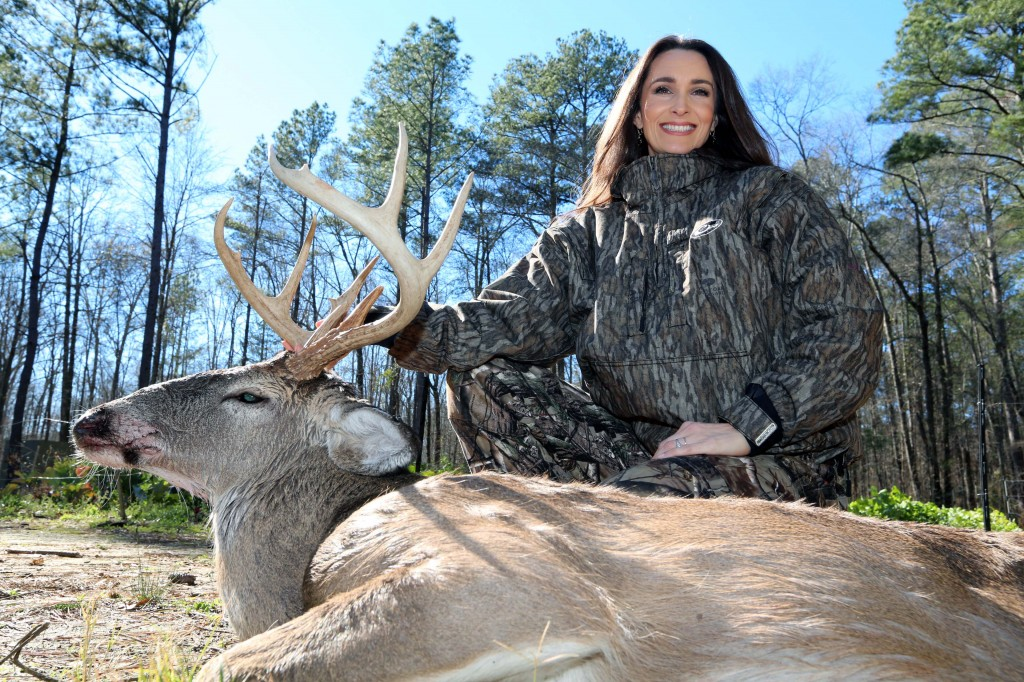 Writer, Mother, Wife ... She's Busy Indoors and Outdoors - Deer & Deer Hunting | Whitetail Deer Hunting Tips