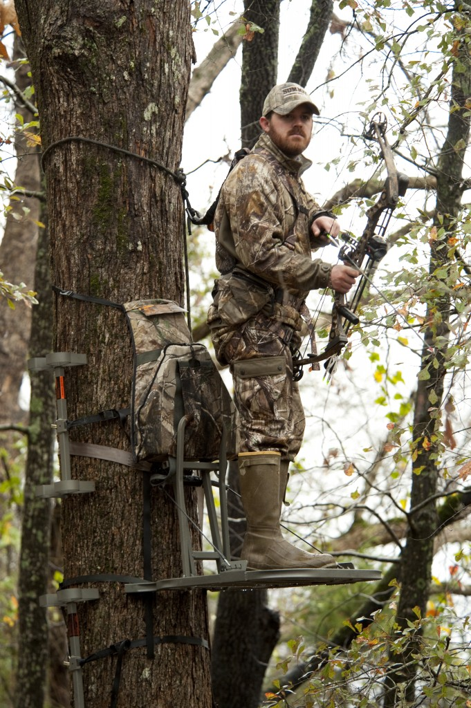 Summit Treestands 681x1024 how to make the best bow shot to kill a deer