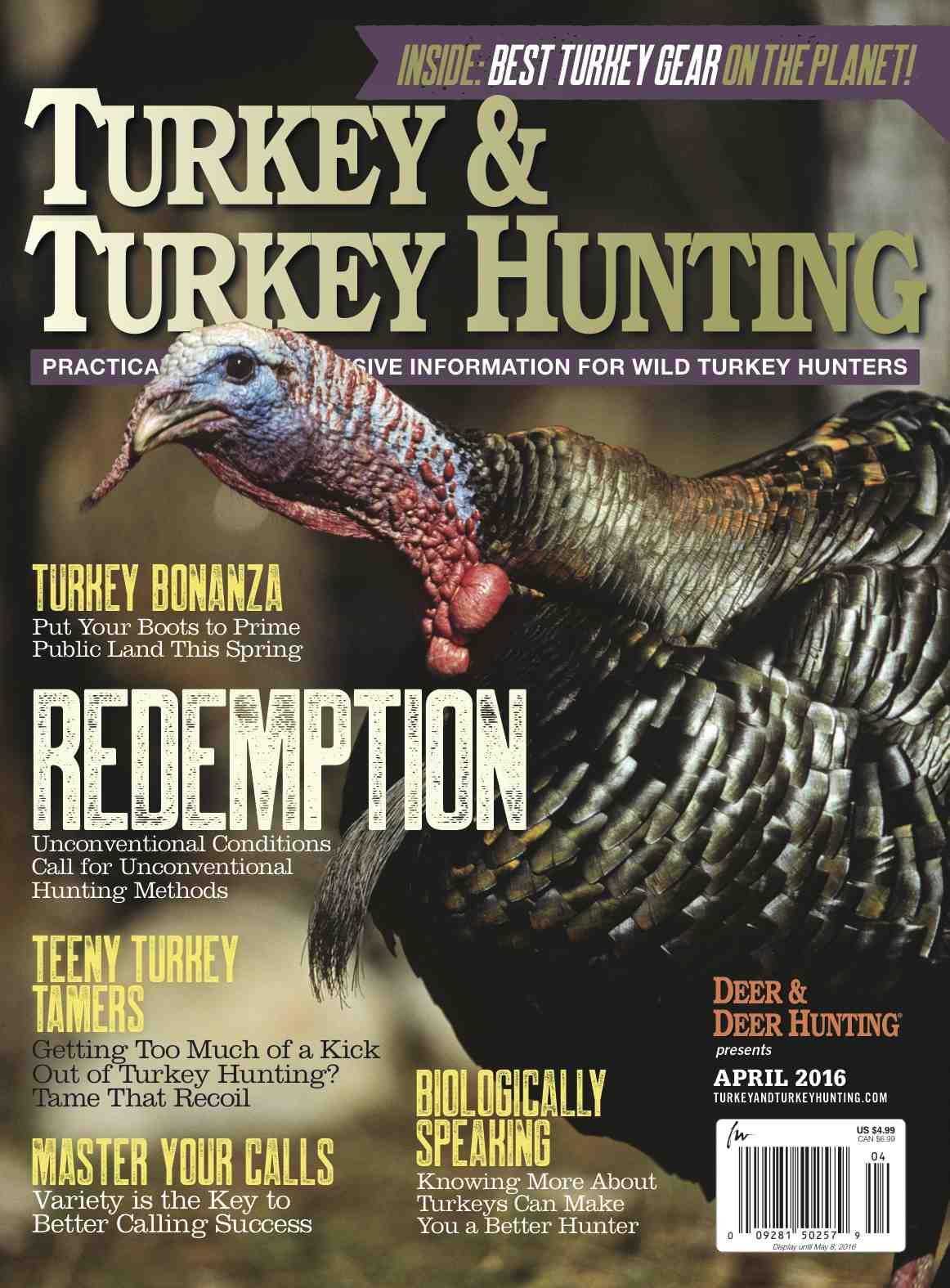 Launch Your Spring Season with Turkey & Turkey Hunting Magazine - Deer & Deer Hunting | Whitetail Deer Hunting Tips