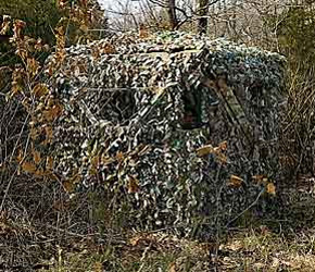 Ground Blinds Great For Deer Hunting