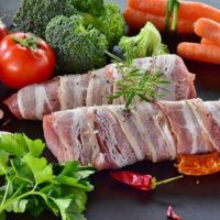 bacon-wrapped tenderloin